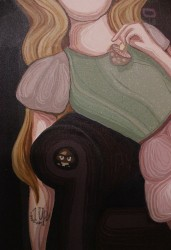 """FRAU ISA """"1UP"""" (Detail)"""